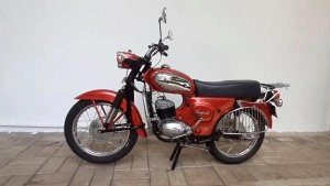 Escorts Rajdoot 175 Fully Restored To Stock Condition: A Two-Stroke Workhorse