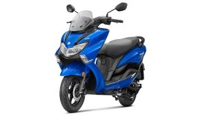 New Suzuki Burgman Street 125 Blue Colour Launched In India: Prices Start At Rs 79,700