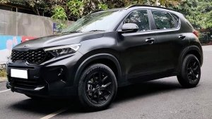 New Kia Sonet SUV Modified Tastefully In Bangalore: Here Are All The Customisations Made