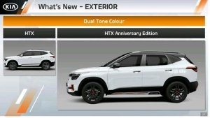 Kia Seltos Anniversary Edition Details Leaked: Set To Receive A Bunch Of Cosmetic Upgrades