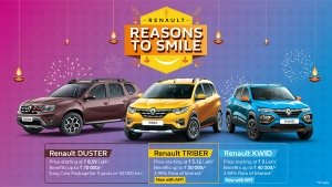 Renault Car Discounts For October 2020: Kwid, Triber & Duster Receive Benefits Up To Rs 70,000