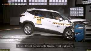 Kia Seltos Secures Three-Star Rating At Global NCAP Crash Tests: Watch The Test Video Here!