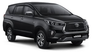 2021 Toyota Innova Facelift Spotted At Dealer Stockyard In India Ahead Of Launch