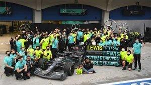 Lewis Hamilton Wins An Unpredictable Turkish GP: Equals Michael Schumacher's 7 World Titles