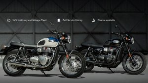 Triumph Motorcycles Launches 'Approved Triumph' Pre-Owned Sales In India