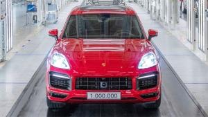 Porsche Cayenne Reach 1 Million Units Production: SUV Achieves New Milestone