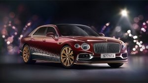 Bentley Flying Spur 'Reindeer Eight' Unveiled: A One-off V8-Powered Sleigh For Santa Claus!
