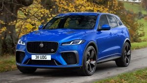 2021 Jaguar F-Pace SVR Receive Cosmetic & Mechanical Upgrades: Will Rival The BMW X3 M