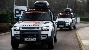 Land Rover Defender Will Take Part As A Support Vehicle In The 2021 Dakar Rally