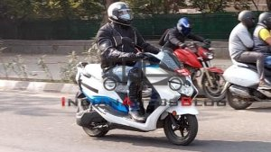 All-New Suzuki Burgman Street Electric Scooter Spied Testing Yet Again: Spy Pics & Details