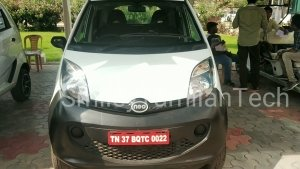 Tata Nano Electric Spotted Testing Revealing New Features Ahead Of Launch: Pics & Details