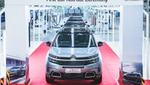 Citroen C5 Aircross Rolls Out Of Production In India Ahead Of Unveil Next Month