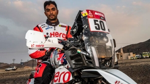 CS Santosh Crashes Out In Stage 4 Of Dakar Rally 2021: Admitted To Hospital