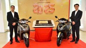 Honda Activa Creates A New Milestone In The Indian Market: 2.5 Crore Customers In 20 Years