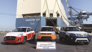 Maruti Suzuki Exports Two Million Vehicles From India: Read More To Find Out