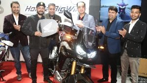 Honda Commences Deliveries Of The 2021 Africa Twin In India
