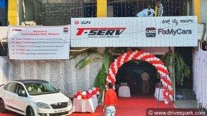Toyota T-Serv & Fix My Cars Inaugurates Multi-Brand Car Service Centre In Bangalore