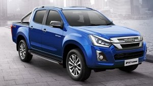 BS6 Isuzu D-Max V-Cross Spied Testing In India Ahead Of Launch: Spy Pics & Details