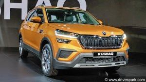 All-New Skoda Kushaq SUV Globally Unveiled In India Ahead Of Launch: Here Are The Details!