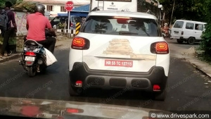 Citroen C3 Aircross Spied Testing Again Ahead Of India Launch: Pics & Details