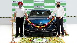 First 2021 Skoda Octavia Rolls Out Of Production In India Ahead Of Launch This Month