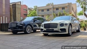 2021 Bentley Bentayga & New Flying Spur Showcased In Bengaluru: Brand's India Tour Reaches The City