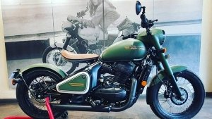 Jawa Perak Spotted In Matte Green Paint Scheme: Here's Everything You Need To Know