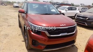 2021 Kia Seltos Spotted At Dealership Ahead Of Its India Launch: Details & More!