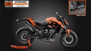 KTM 890 Duke Tech3 MotoGP Edition Launched: Only 100 Motorcycles To Be Produced