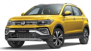 Volkswagen Taigun GT Spied Testing Ahead Of India Launch This Year: Pics & Details