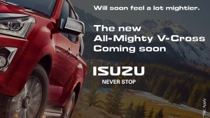Isuzu D-Max V-Cross BS6 Teased Once Again By The Company: Here Are All The Details!
