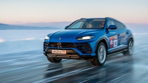 Lamborghini Urus Takes Record For Highest Top Speed On Ice At World's Largest Freshwater Lake