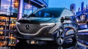 Mercedes-Benz EQT Electric Van Revealed: German Brand's Most Practical EV!