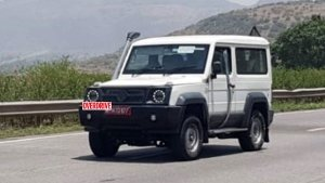 2021 Force Gurkha Near Production SUV Spied Testing Again Ahead Of India Launch: Pics & Details