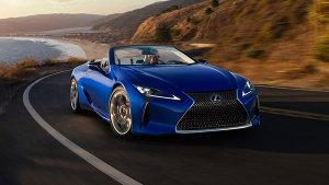 Lexus LC Convertible Frozen To Minus 18 Degrees In Industrial Freezer; Works Perfectly Afterward