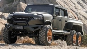 Rezvani Hercules 6x6 Revealed: Six Wheels, 1,300Bhp 7.0-Litre V8 & Looks To Match
