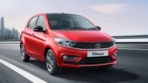 Tata Tiago CNG Hatchback Spied Testing Ahead Of India Launch Details: Pics & Details