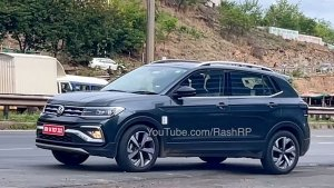 Volkswagen Taigun Spied Testing Without Camouflage Testing Ahead Of India Launch: Pics & Details