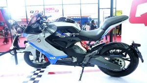 Qianjiang QJ7000D Electric Motorcycle Revealed: Chinese EV Features 600cc Rivaling Performance