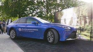 Toyota Mirai Breaks World Record For Longest Distance On One Tank Of Hydrogen