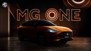 MG One Mid-Size SUV Teased Ahead Of Debut: India Launch To Happen Soon
