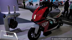 TVS Creon Electric Scooter Launching Soon; TVS To Invest Rs 1,000 Crore In EV Space