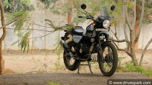 New Royal Enfield Himalayan Variant Spied Testing With Several Changes: Pics & Details