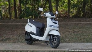 TVS iQube Electric Scooter Launched In Pune At Rs 1.10 Lakh: 75km Range, Home Charging Available