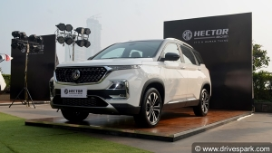 MG Hector Recalled In India — 14,000 Units Recalled For Showing Variation In Pollution Levels