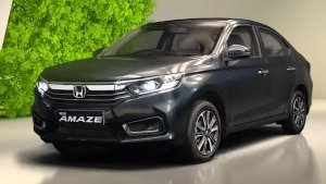 2021 Honda Amaze Launched At Rs 6.32 Lakh: LED Headlamp, Diesel & Petrol Automatics Available