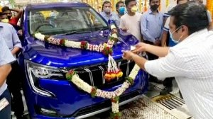 Mahindra XUV700 Production Begins — First XUV700 Rolls Off The Assembly Line