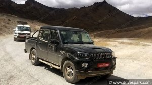 Spy Pics: Mahindra Scorpio Getaway Spotted Testing Undisguised In Ladakh — Drivespark Exclusive