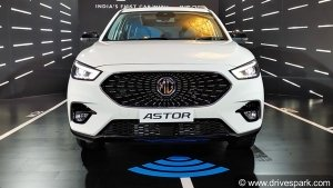 MG Astor Bookings Opened: First Batch Gets Sold Out Within 20 Minutes