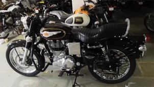 Royal Enfield Bullet 350 With Rear Disc Brake Launched In India; Priced At Rs 1.28 Lakh